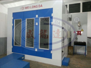 Wld6200 Auto Spray Booth with Exhaust Fan System pictures & photos