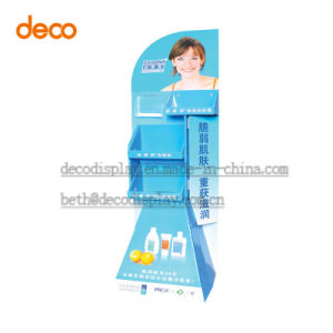 Retail Corrugated Cardboard Counter Display Paper Floor Display Stand pictures & photos