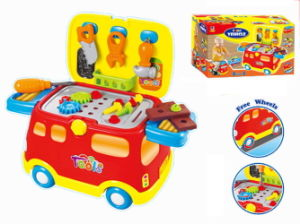 Pretend Play Toy Kids Toy Tool Set Tool Vehicle (H3775161) pictures & photos