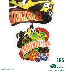 Customized Colorful PVC Pumpkin Fest Logo Medal pictures & photos