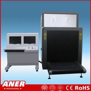 Large Size 100X80cm X Ray Baggage Inspection Machine for Wharf Port Security Check with Multi Energy Color pictures & photos