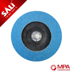 Zirconia Aluminum 115X22.2mm China Abrasive Flap Disk for Inox pictures & photos