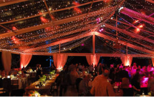 25m Aluminum Frame Transparent Wedding Party Tent for 1000 People pictures & photos