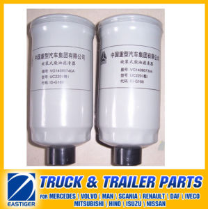 Vg14080740A/39A Oil Filter Weichai Diesel Engine Part for Sinotruck HOWO pictures & photos
