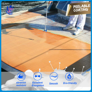 Waterborne Polyurethane Peelable Protective Coating pictures & photos