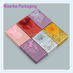 Flower Paper Cardboard Gift Box for Jewelry Packing