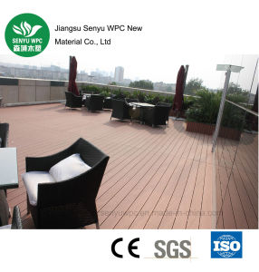 Factory Wholesale Exterior WPC Flooring Decking pictures & photos