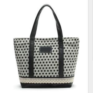 Fashion Women Handle Shopping Leisure Single Carrier Canvas Bag Handbags