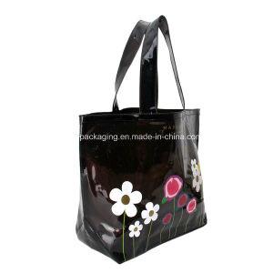 Flower Design Plastic Shopping PVC Bag pictures & photos