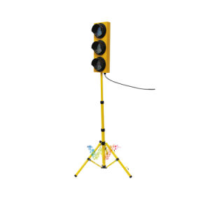 Customized 125mm LED Pedestrian Light with Tripod Traffic Signal Light pictures & photos