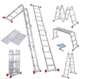 Aluminum Ladder & Multipurpose Ladder with En131 Approval pictures & photos