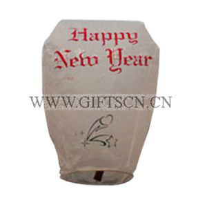 Round Shape Paper Material Prininted Sky Lantern (SL03) pictures & photos