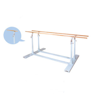 Adjustable Height 1.5-1.8m Steel Parallel Bars for Sale pictures & photos