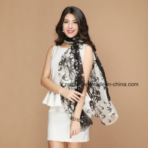 Printing Silk Scarf for Ladys pictures & photos