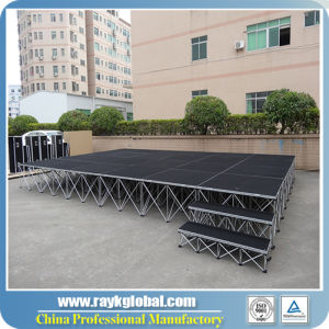 Portable Mobile Folding Stage Outdoor Concert Stage for Sale pictures & photos