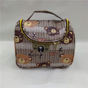 Large Size Lovely Cartoon Print Pattern Cosmetic Bag pictures & photos