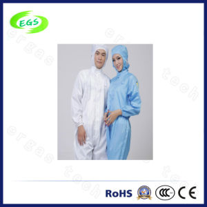 ESD Cleanroom Connected Garment (Leg Opening Design) (EGS-PP19) pictures & photos