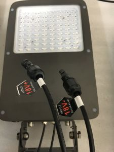 Aluminum LED Solar Security Lights Motion Sensor Solar Spotlight pictures & photos