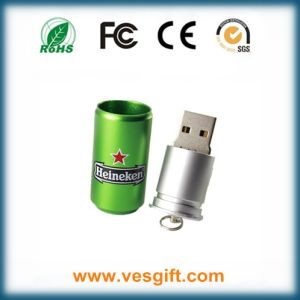 Cocacola USB Stick Hot Selling Design Metal Bottle Pen Drive pictures & photos
