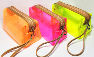 Promotion Candy Colorful PVC Cosmetic Bags