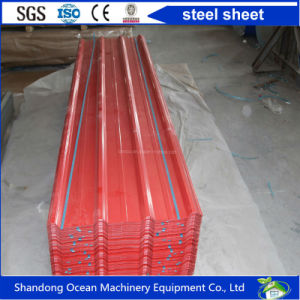 Corrugated Color Steel Roofing Sheet of PPGI Steel with Model Yx15-225-900 pictures & photos