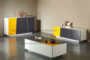 Modern Wooden UV High TV Cabinet (Thinking 201) pictures & photos
