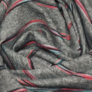 High Quality 194GSM Polyester Spandex Stripe Fabric for Clothing pictures & photos