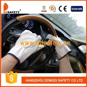 Ddsafety 2017 Goatskin Driver Leather Glove pictures & photos