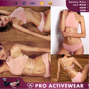 New Arrival Girls Swimwear Two Piece Swimsuit pictures & photos