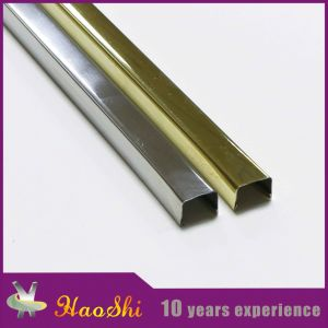 Stainless Steel Extrusion Profile Tile Trim