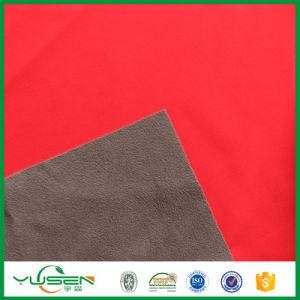 Polyester Spandex Fabric with Bonding Polar Fleece pictures & photos