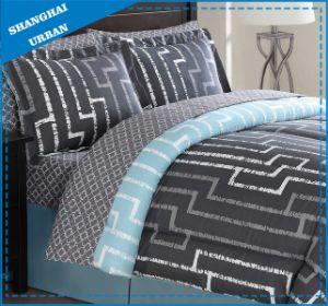 Dark Maze Design Printed Cotton Duvet Cover Bedding pictures & photos
