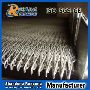 High Temperature Stainless Steel Wire Mesh Belt for Conveyor Annealing Furnace pictures & photos