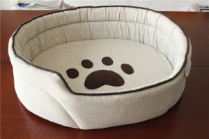 Cushion Removeable Pet Bed, Pet Product Import Handmade Dog Bed pictures & photos
