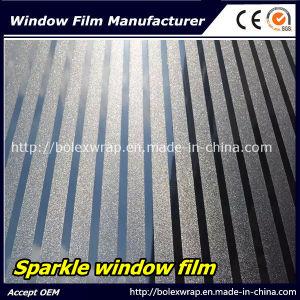 Sparkle Glass Window Film Office Window Film 1.22m*50m pictures & photos