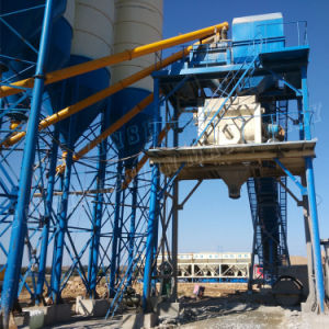 Hzs90 Fully Control System Concrete Mixing Plant pictures & photos