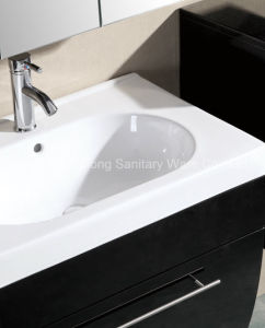 Hot Selling MDF Bathroom Cabinet with Three Side Vanity and Mirror Cabinet pictures & photos