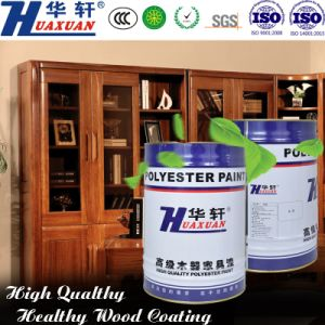 Huaxuan PU Scratch Resistant Smoothly Matte Clear Top Coat for Wooden Furniture Painting pictures & photos