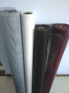 Flame Retardent Fiberglass Insect Screen Net for Door or Window, 18X16, 120G/M2, Grey or Black pictures & photos