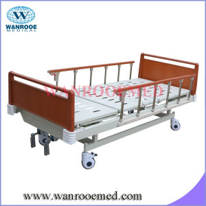 Bam211b Best Quality ABS Two Function Manual Aluminium Hospital Bed pictures & photos