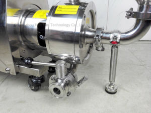 Sanitary Stainless Steel Mixing Blender Pump with Hopper pictures & photos