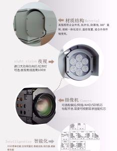 Police Car 100m Night Vision HD IR PTZ Surveillance Camera (SHJ-HD-TA) pictures & photos