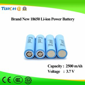 New Product Deep Cycle Manufacturer 3.7V 2500mAh Li-ion 18650 Battery Full Capacity pictures & photos