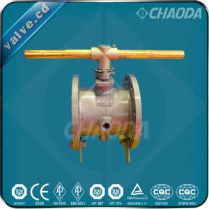 Jacketed Type Flanged Floating Ball Valve pictures & photos