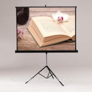 80inch Tripod Screen Projector, Portable Style Projection Screen pictures & photos