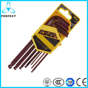 L Type Ball Head Hex Key Set pictures & photos