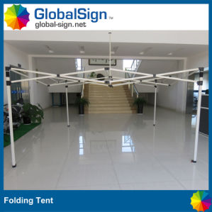 Manufacturer Custom Printed Popup Logo Steel Tents pictures & photos