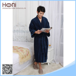 Latest Style China Supllier High Quality Personalized Custom Attractive Hotel Nice Bathrobe pictures & photos