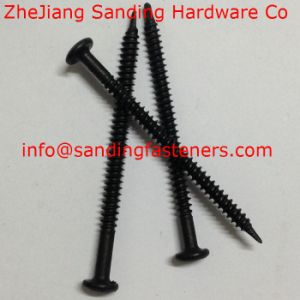 C1022 Pan Head Harden Black Zinc Plated Self Drilling Screw pictures & photos