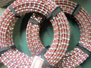 Stationary Diamond Wire for Granite&Marble Block Cutting pictures & photos